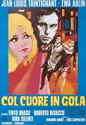 Col cuore in gola - Italian Movie Poster (thumbnail)