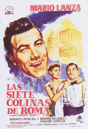 Arrivederci Roma - Spanish Movie Poster (thumbnail)