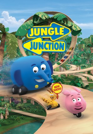 """Jungle Junction"" - Finnish Movie Poster (thumbnail)"