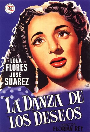 Danza de los deseos, La - Spanish Movie Poster (thumbnail)