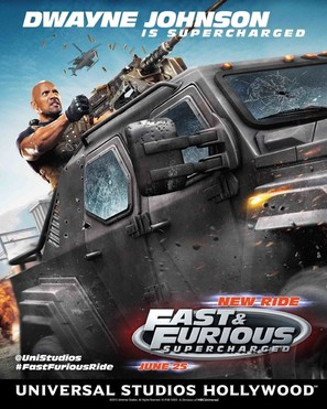 Fast & Furious: Supercharged - Movie Poster (thumbnail)
