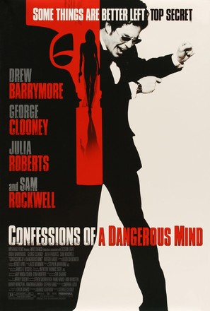 Confessions of a Dangerous Mind - Movie Poster (thumbnail)