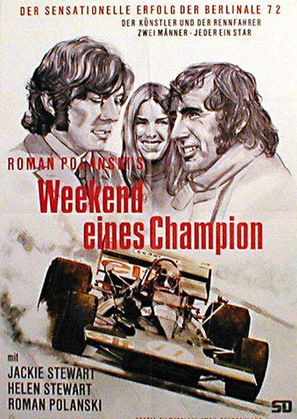 Weekend of a Champion - German Movie Poster (thumbnail)