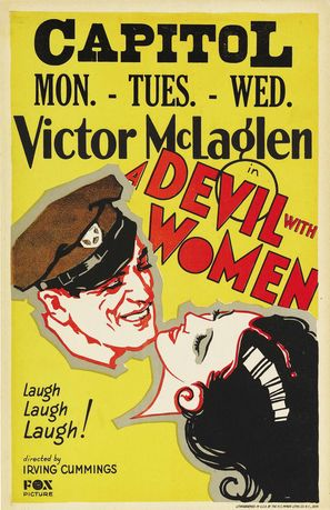 A Devil with Women - Movie Poster (thumbnail)