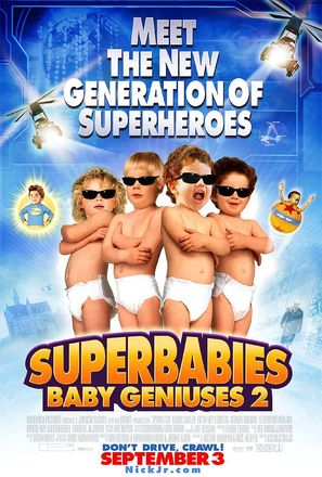 SuperBabies: Baby Geniuses 2 - Movie Poster (thumbnail)