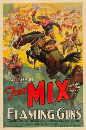 Flaming Guns - Movie Poster (thumbnail)