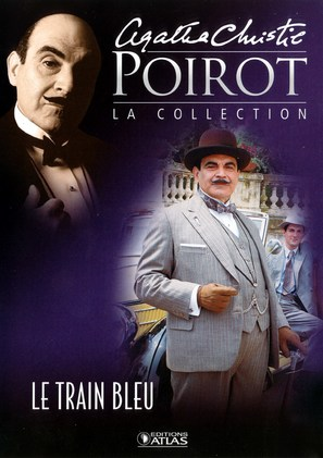 """""""Poirot"""" The Mystery of the Blue Train - French poster (thumbnail)"""