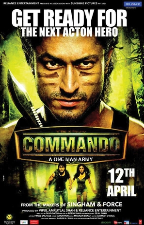 Commando - Indian Movie Poster (thumbnail)