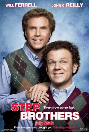 Step Brothers - Movie Poster (thumbnail)