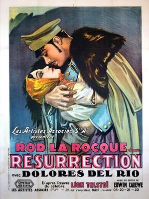 Resurrection - French Movie Poster (thumbnail)