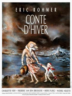 Conte d'hiver - French Movie Poster (thumbnail)