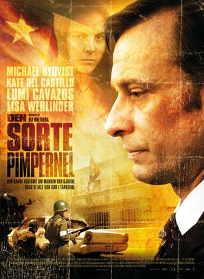 The Black Pimpernel - Danish Movie Poster (thumbnail)