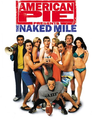 American Pie Presents: The Naked Mile - DVD movie cover (thumbnail)
