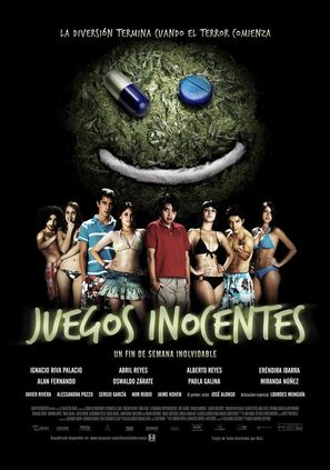 Juegos inocentes - Mexican Movie Poster (thumbnail)