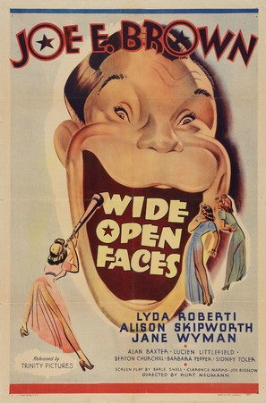 Wide Open Faces - Movie Poster (thumbnail)
