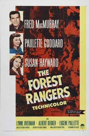 The Forest Rangers - Movie Poster (thumbnail)