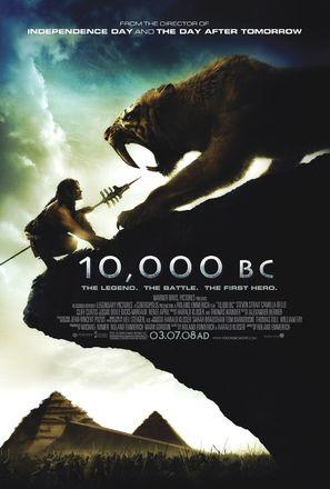 10,000 BC - Movie Poster (thumbnail)