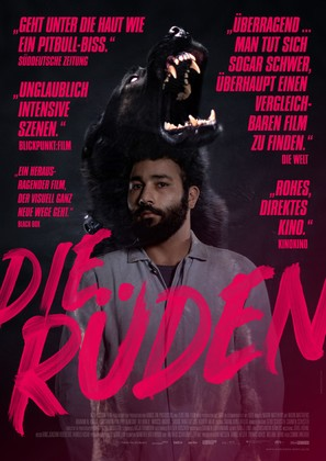 Die Rüden - German Movie Poster (thumbnail)