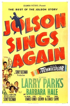 Jolson Sings Again - Movie Poster (thumbnail)