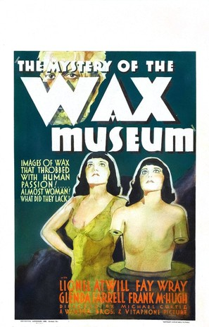 Mystery of the Wax Museum - Movie Poster (thumbnail)