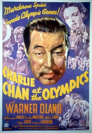 Charlie Chan at the Olympics - Movie Poster (thumbnail)