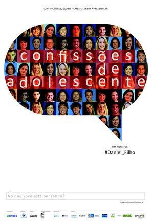 Confissões de Adolescente - Brazilian Movie Poster (thumbnail)
