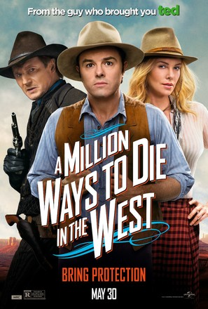 A Million Ways to Die in the West - Movie Poster (thumbnail)