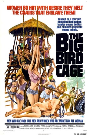 The Big Bird Cage - Theatrical poster (thumbnail)