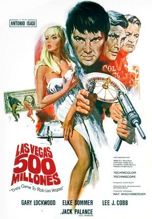 Las Vegas, 500 millones - Spanish Movie Poster (thumbnail)