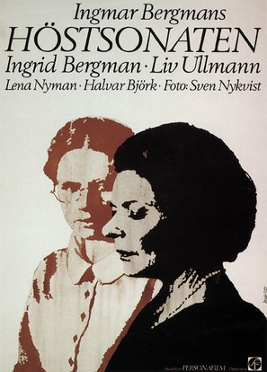 Höstsonaten - Swedish Movie Poster (thumbnail)