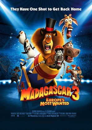Madagascar 3: Europe's Most Wanted - Movie Poster (thumbnail)