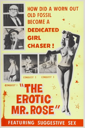 The Erotic Mr. Rose - Theatrical poster (thumbnail)