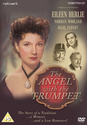 The Angel with the Trumpet - British DVD movie cover (thumbnail)