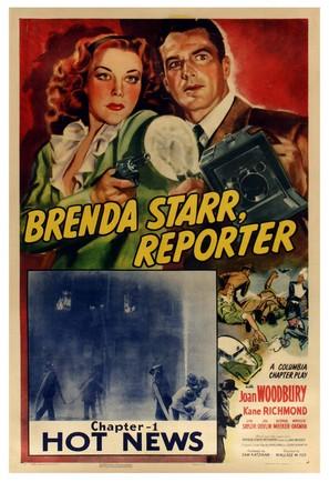 Brenda Starr, Reporter - Movie Poster (thumbnail)