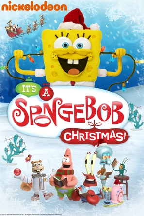 It's a SpongeBob Christmas! - DVD movie cover (thumbnail)