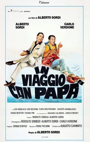 In viaggio con papà - Italian Theatrical poster (thumbnail)