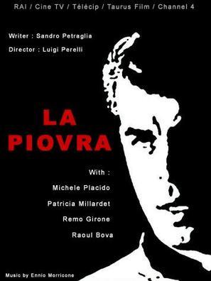 """La piovra"" - Italian DVD movie cover (thumbnail)"