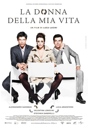 La donna della mia vita - Italian Movie Poster (thumbnail)
