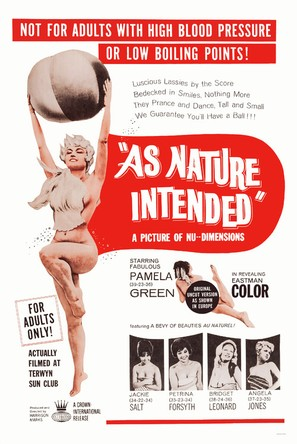 Naked as Nature Intended - Movie Poster (thumbnail)