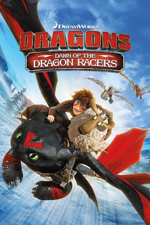Dragons: Dawn of the Dragon Racers - DVD movie cover (thumbnail)