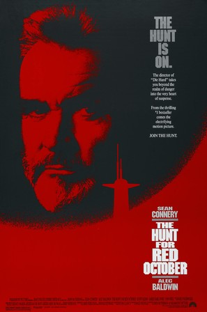 The Hunt for Red October - Movie Poster (thumbnail)