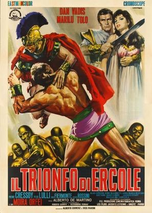 Il trionfo di Ercole - Italian Movie Poster (thumbnail)