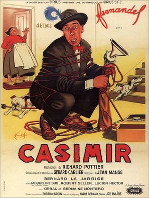 Casimir - French Movie Poster (thumbnail)