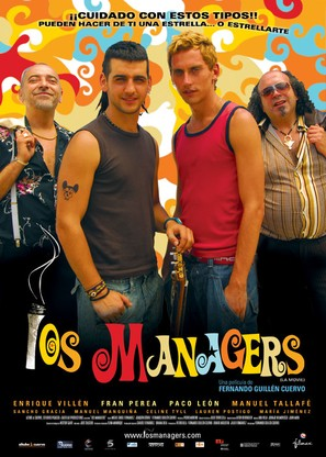 Mánagers, Los - Spanish Movie Poster (thumbnail)