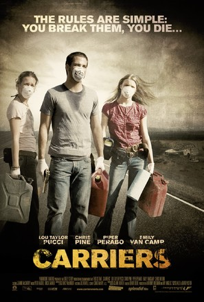 Carriers - Belgian Movie Poster (thumbnail)