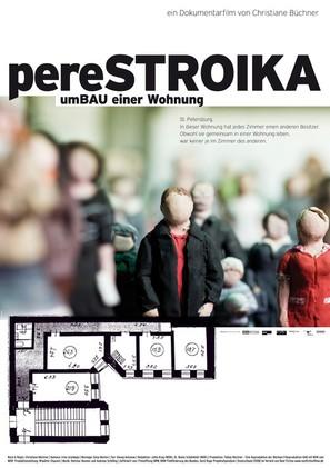 Perestroika: Reconstruction of a Flat - German Movie Poster (thumbnail)