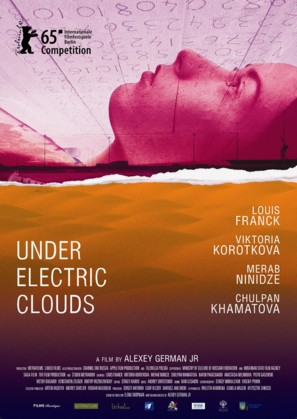 Pod elektricheskimi oblakami - Russian Movie Poster (thumbnail)