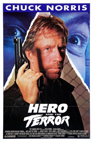 Hero And The Terror - Movie Poster (thumbnail)