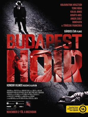 Budapest Noir - Hungarian Movie Poster (thumbnail)