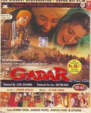 Gadar: Ek Prem Katha - Indian Movie Cover (thumbnail)